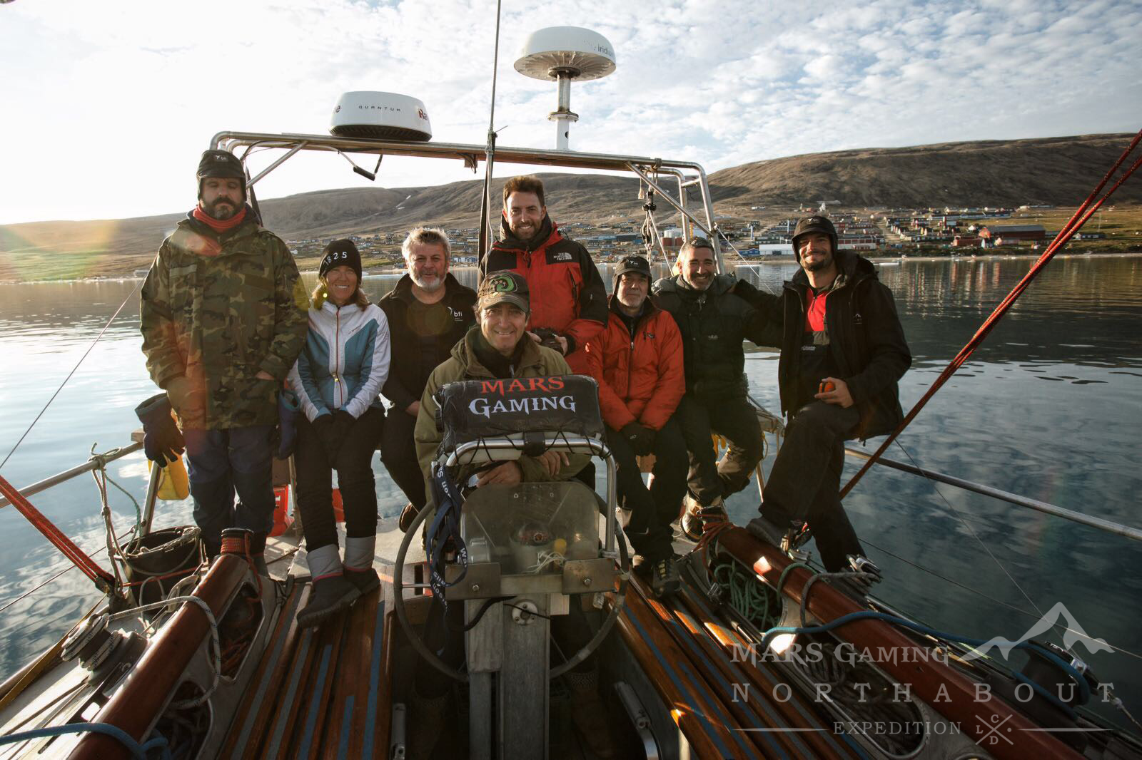 Equipo Mars Gaming Expedition en Qaanaaq