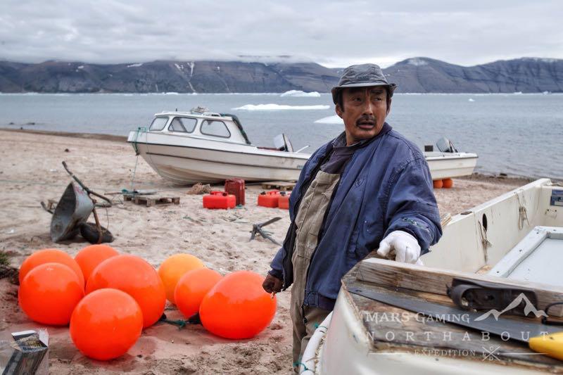 pescador inuit