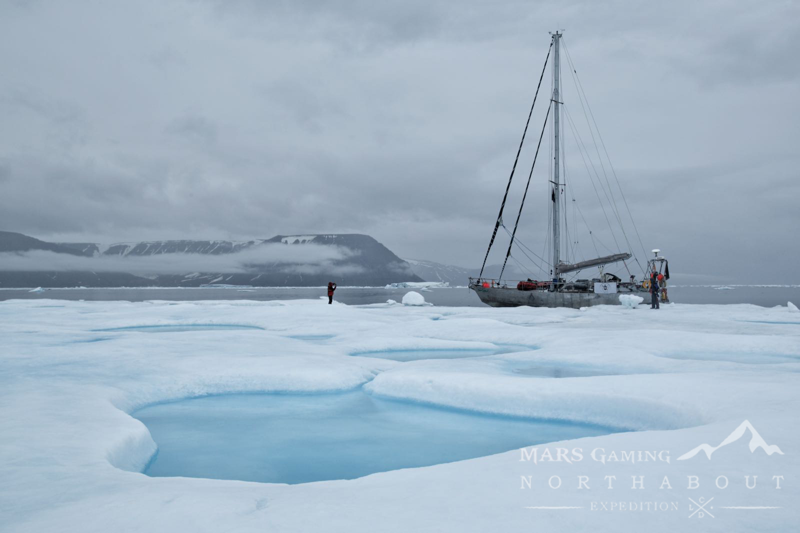 Excursion to an Icy sea and bottom Northabout