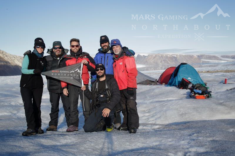Mars Gaming Northabout Expedition Team