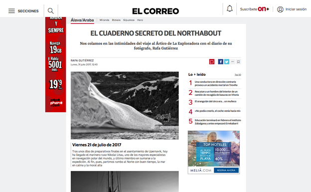 Noticia Mars Gaming Northabout Expedition